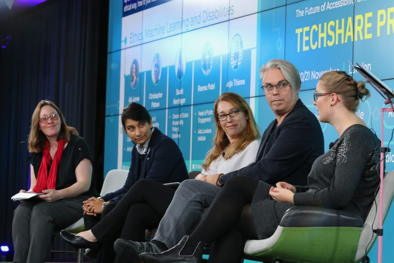 Ethics, Machine Learning and Disabilities panel at TechShare Pro 2019