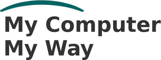 Image shows the My Computer My Way logo
