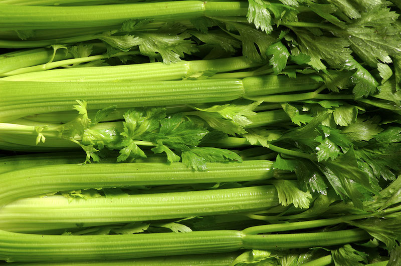 sticks of celery