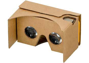 Google Cardboard is a low cost VR headset that helped kickstart interest in the technology