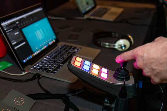 Colour photo of Digit Music technology