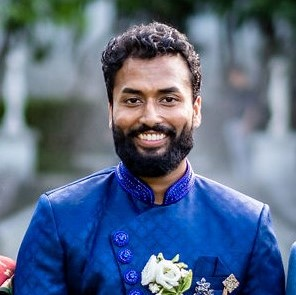 Colour photo of Abhiram Moturi