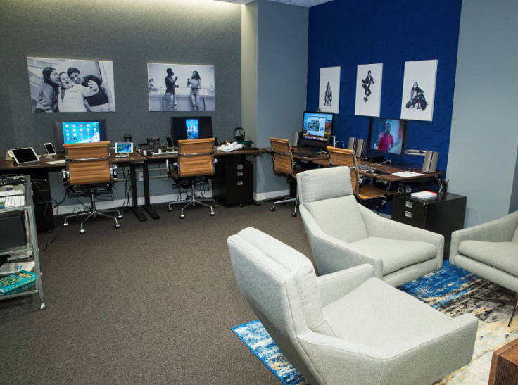 Photo of Verizon Media's New York Accessibility Lab