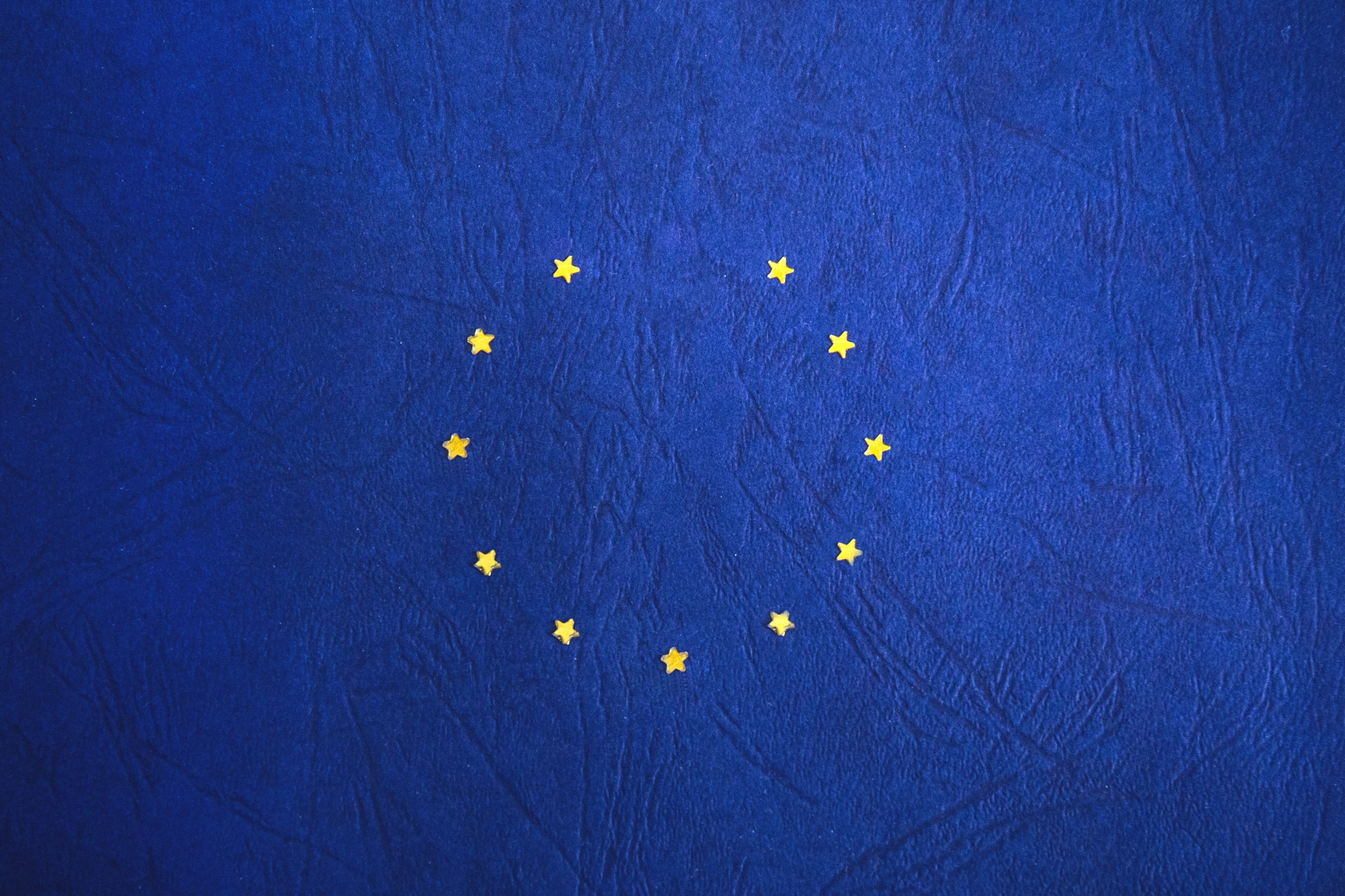 A picture of the EU flag