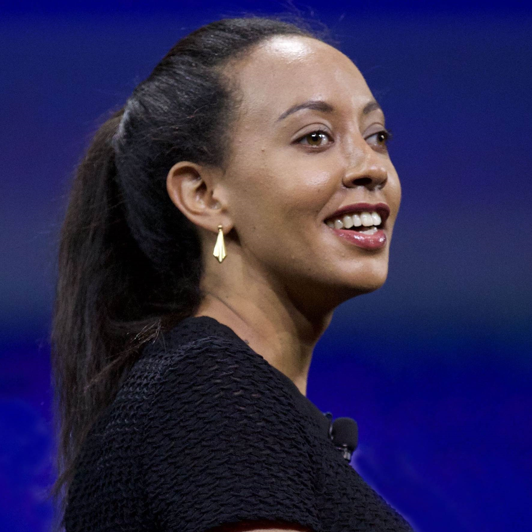 Colour photo of Haben Girma