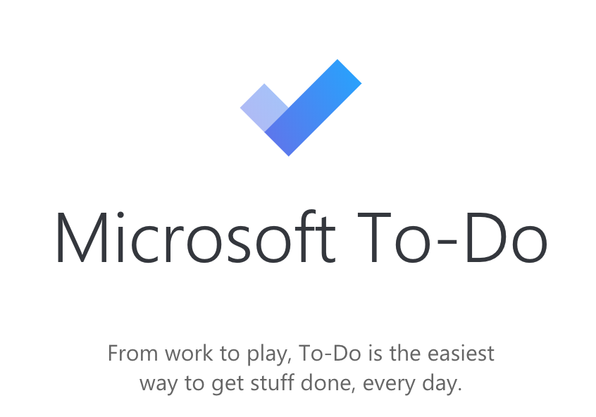microsoft To Do - From work to play, To-Do is the easiest way to get stuff done, every day.