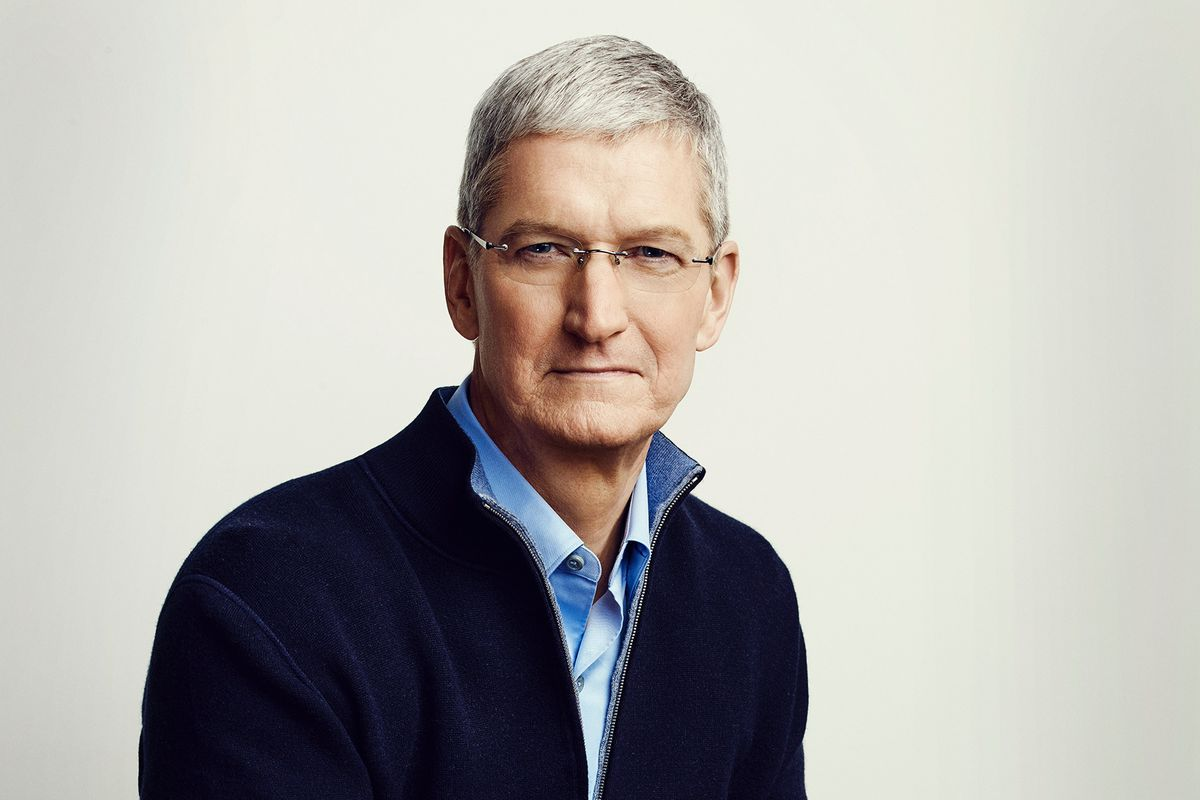 Photo of Tim Cook, Apple's CEO