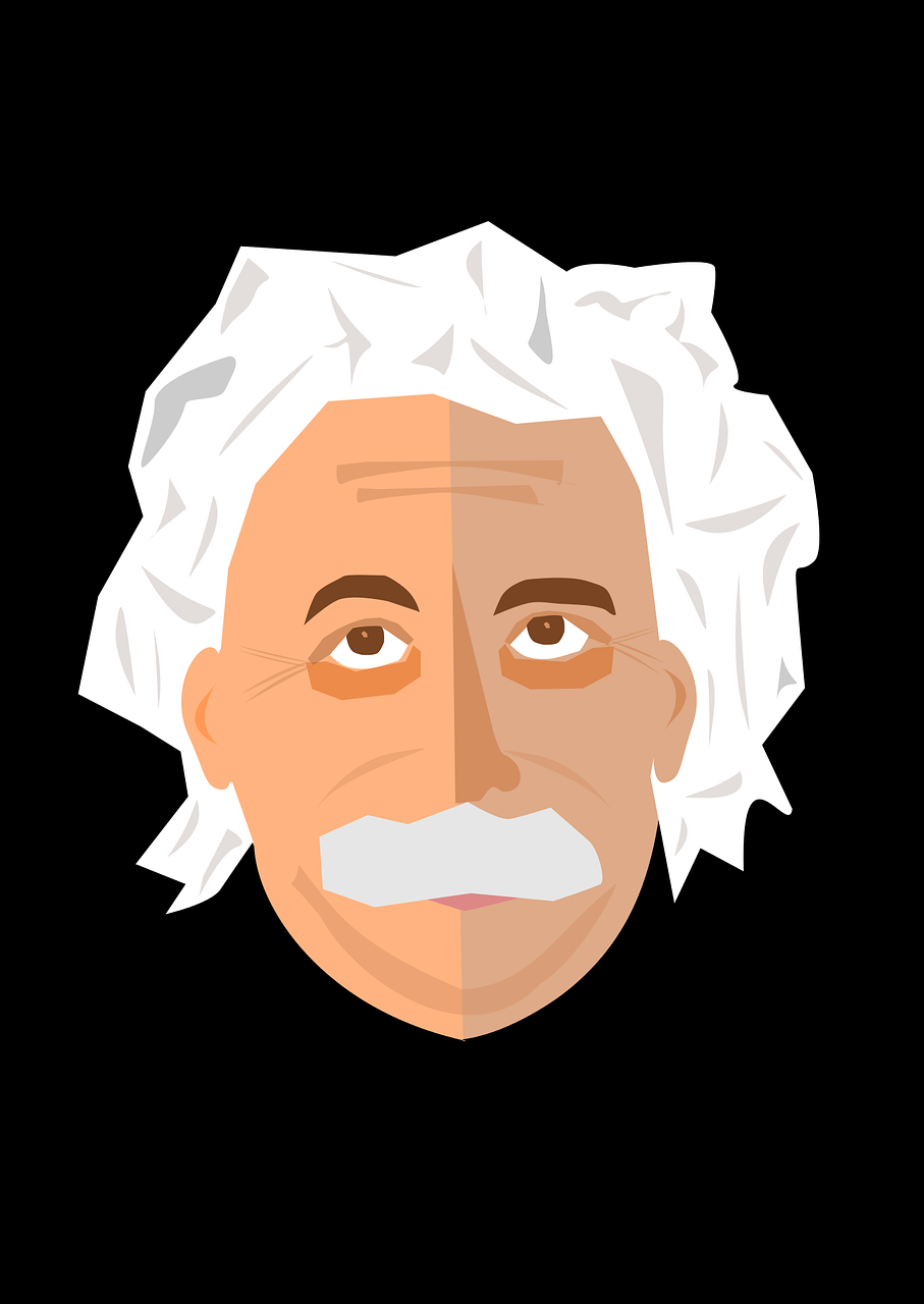 Animated picture of Albert Einstein
