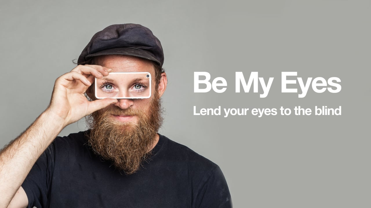 The Be My Eyes logo