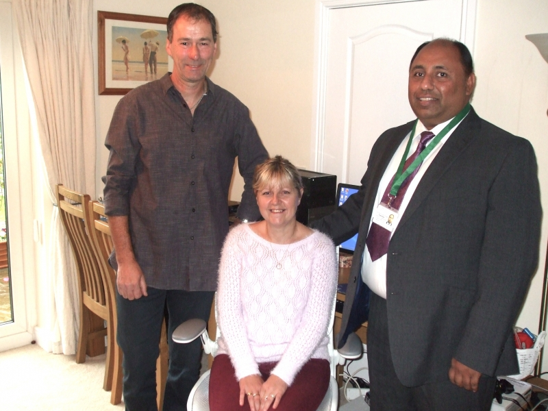 Janette, Jeremy and Pankaj