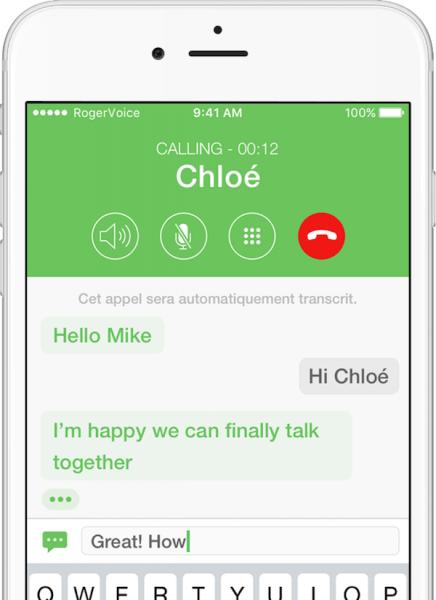 RogerVoice app delivers phone calls to deaf people ...