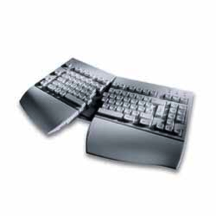 a split keyboard is one of many options which can make a keyboard more comfortable to use