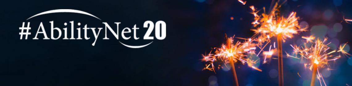 AbilityNet celebrates its 20th birthday