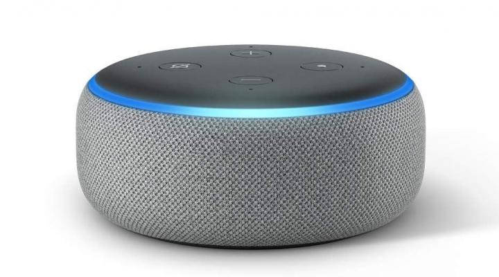 Photo of an Amazon Echo