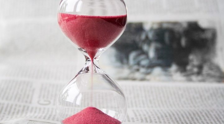 Photo of sand timer